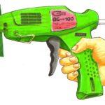 glue gun concept sketch