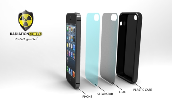 GloberDesign Executed a new iphone case design of a radiation protection case